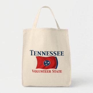 Tennessee - Volunteer State Grocery Tote Bag