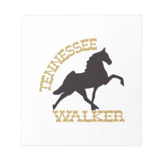 Tennessee Walker Notepad