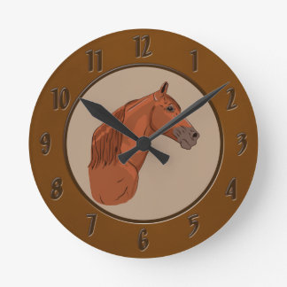 Tennessee Walking Horse 1 Wall Clocks