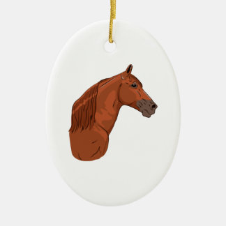 Tennessee Walking Horse 1 Ceramic Oval Decoration