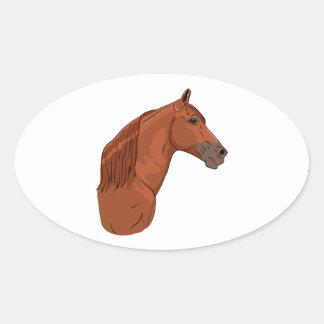 Tennessee Walking Horse 1 Oval Sticker