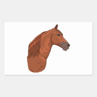 Tennessee Walking Horse 1 Rectangular Sticker