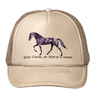 Tennessee Walking Horse-Add your farm name Cap