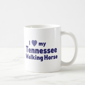 Tennessee Walking Horse Basic White Mug