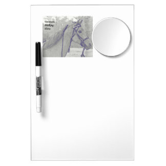 Tennessee Walking Horse dry erase board