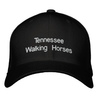 Tennessee Walking Horse Embroidered Baseball Caps