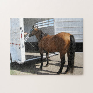Tennessee Walking Horse & Horse Trailer Jigsaw Puzzles