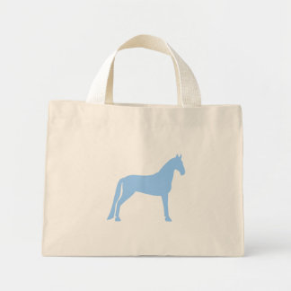 Tennessee Walking Horse light blue Bags