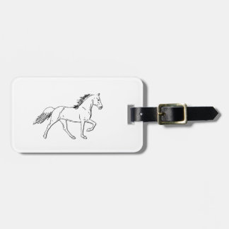 Tennessee Walking Horse Luggage Tags