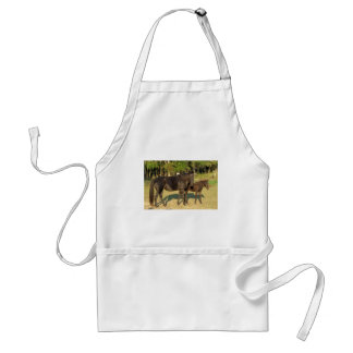 Tennessee Walking Horse Mare and Foal Standard Apron
