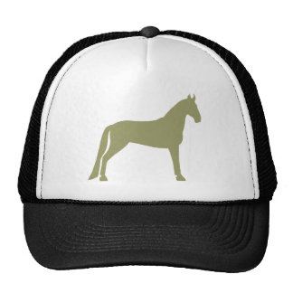 Tennessee Walking Horse (olive green) Cap