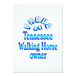 Tennessee Walking Horse Owner Card