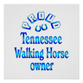 Tennessee Walking Horse Owner Print