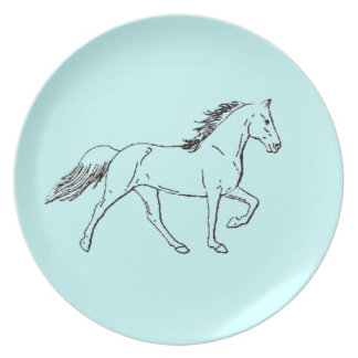 Tennessee Walking Horse Plates