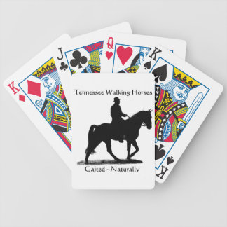 Tennessee Walking Horse playing cards
