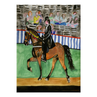 Tennessee Walking Horse Portrait Posters