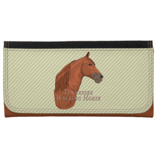 Tennessee Walking Horse Sorrel Chestnut Wallet