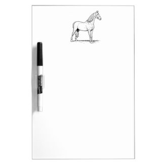 Tennessee Walking Horse - Standing Dry-Erase Whiteboards