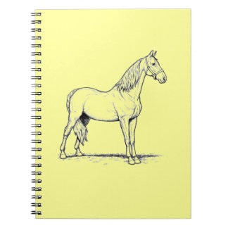 Tennessee Walking Horse - Standing Note Book