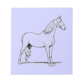 Tennessee Walking Horse - Standing Notepad