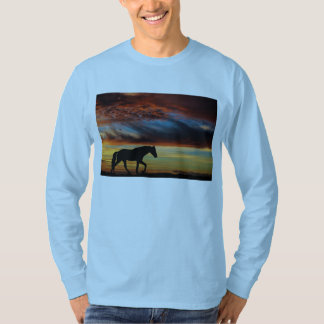 Tennessee Walking Horse Sunset Silhouette T Shirts