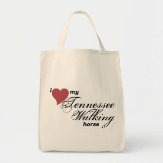 Tennessee Walking Horse Grocery Tote Bag