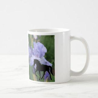 Tennessee Walking Horse TWH Blue Iris TWH Basic White Mug
