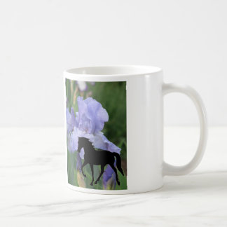 Tennessee Walking Horse TWH Blue Iris TWH Mugs
