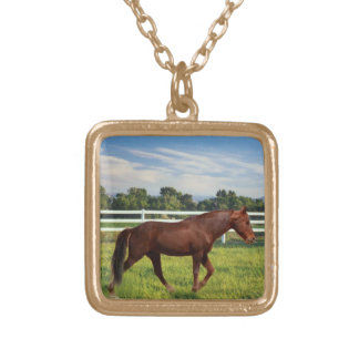 Tennessee Walking Horse TWH Gaited Horse Pendant
