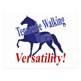 Tennessee Walking Horse Versatility Postcards