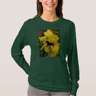 Tennessee Walking Horse Yellow Iris T-Shirt