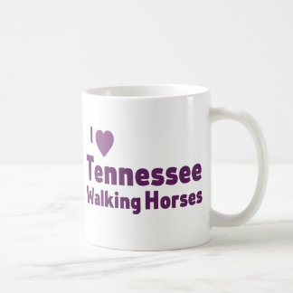 Tennessee Walking Horses Basic White Mug