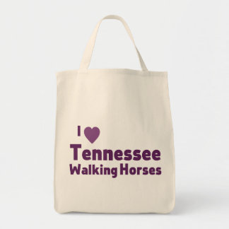 Tennessee Walking Horses Canvas Bags