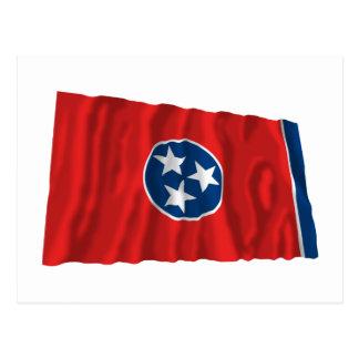 Tennessee Waving Flag Postcard