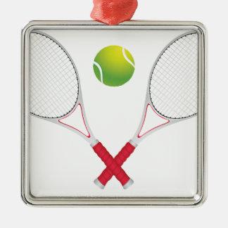 Tennis Ball and Racket2 Christmas Ornament