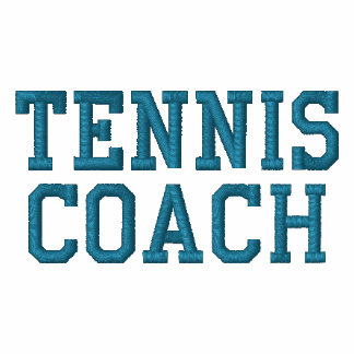 TENNIS COACH EMBROIDERED SHIRTS