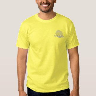 Tennis Coach Embroidered T-Shirt