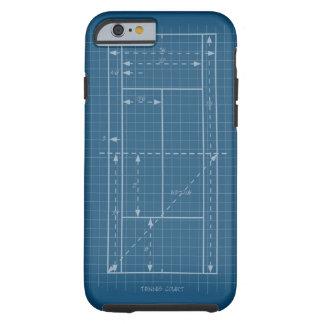 Tennis Court Tough iPhone 6 Case