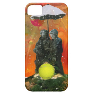 Tennis in a fountain case for the iPhone 5