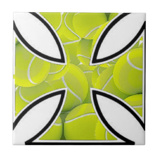 Tennis loves Iron Cross Tile