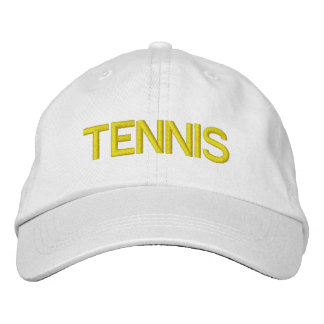 TENNIS - Personalized Adjustable Hat Embroidered Hat
