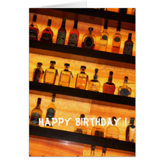 Tequila Birthday Greeting Cards