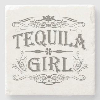Tequila Girl Stone Beverage Coaster