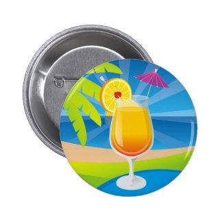 Tequila Sunrise 6 Cm Round Badge