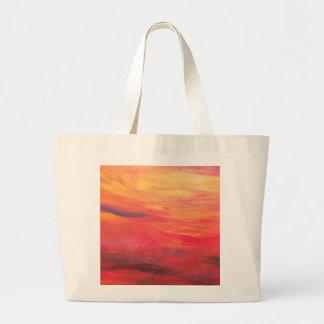 tequila sunrise canvas bag