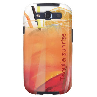 Tequila sunrise galaxy s3 cover