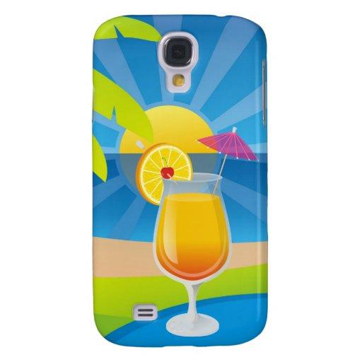 Tequila Sunrise Samsung Galaxy S4 Case