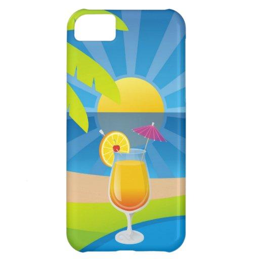 Tequila sunrise iPhone 5C cases