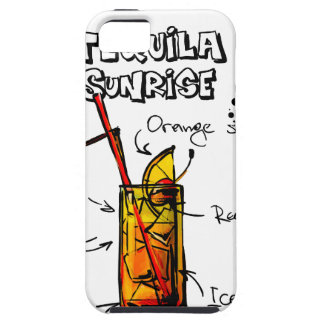 Tequila Sunrise Cocktail Recipe iPhone 5 Covers