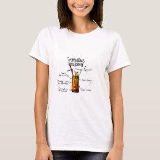 Tequila Sunrise Cocktail Recipe T-Shirt